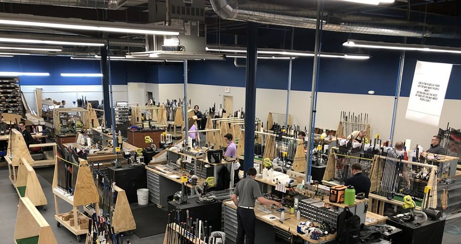 We've massively upgraded our already-impressive build shop in the Chicagoland area!
