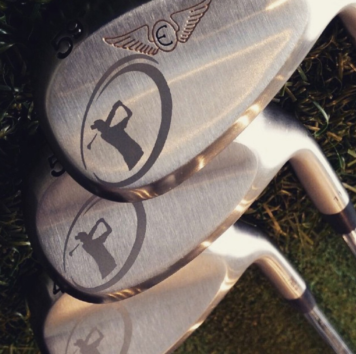 Custom Club Champion Sandblasted Logo