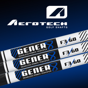 Aerotech Gener8 Graphite Shafts Are All About the Quality of the Strike